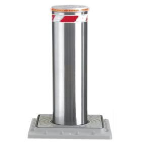 Image: borne escamotable electrique